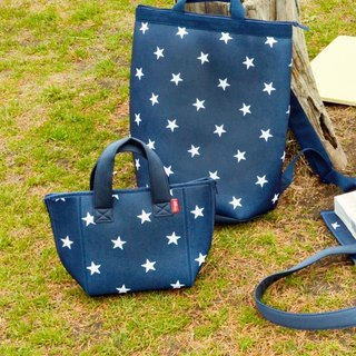 CB Japan Little Star Cold Insulation Removable Washable Dual Tote Tote Bag 3L