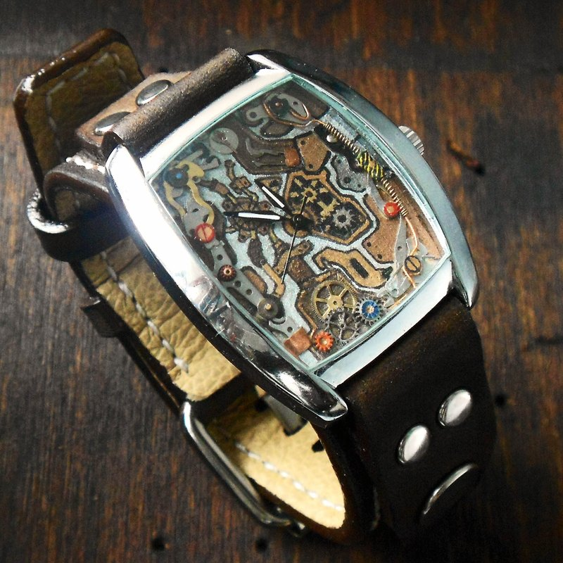 Machine 23 handmade watch handmade handmade bracelet only one
