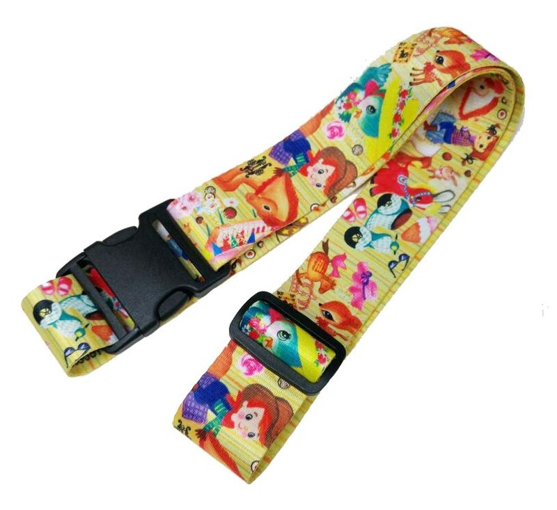 LB13 : Fun Fun Pattern (Colorful Pattern Design) Luggage Band