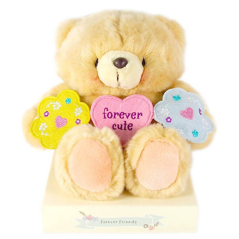 8 吋/I'm the Cutest Fluffy Bear [Hallmark-ForeverFriends Down-Hug Series]