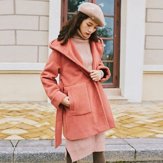 2018 women's winter wear large pocket curling cuff jacket