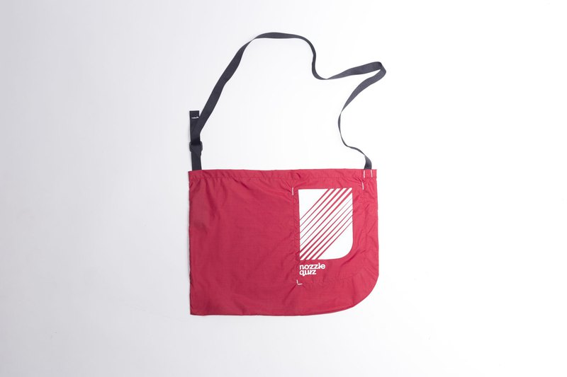 Brgndy Shopping cross bag