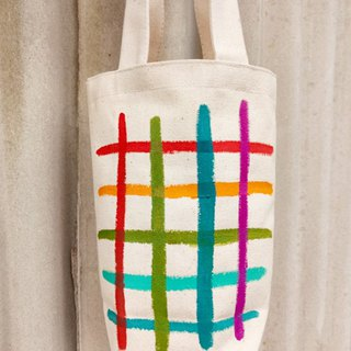 [Pure hand-painted] kettle bag | beverage bag | green cup bag | umbrella bag |