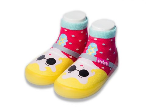 feebees toddler shoes / socks shoes / children's shoes Neverland series Miss Monroe Made in Taiwan