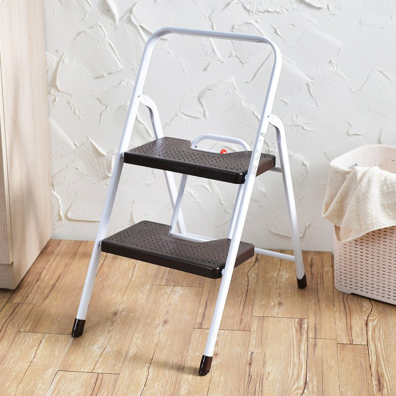 +O home Wo Hanke household heavy folding handrail board ladder - second order