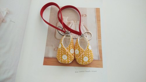 Yolk flower wedding gift good luck shoes strap shoes pregnant