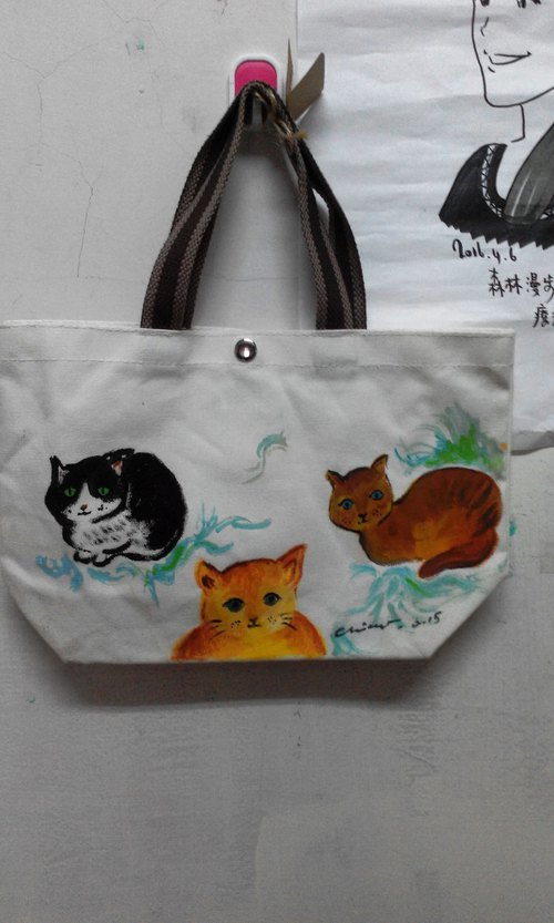 [Customized Small Bag] - Hand-painted Small Bags _ Nice to Bring _ Bags _ Can Be Customized