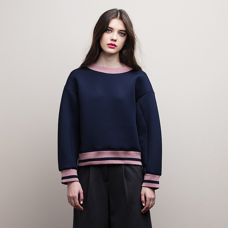 VACAE bi-color sweatshirt