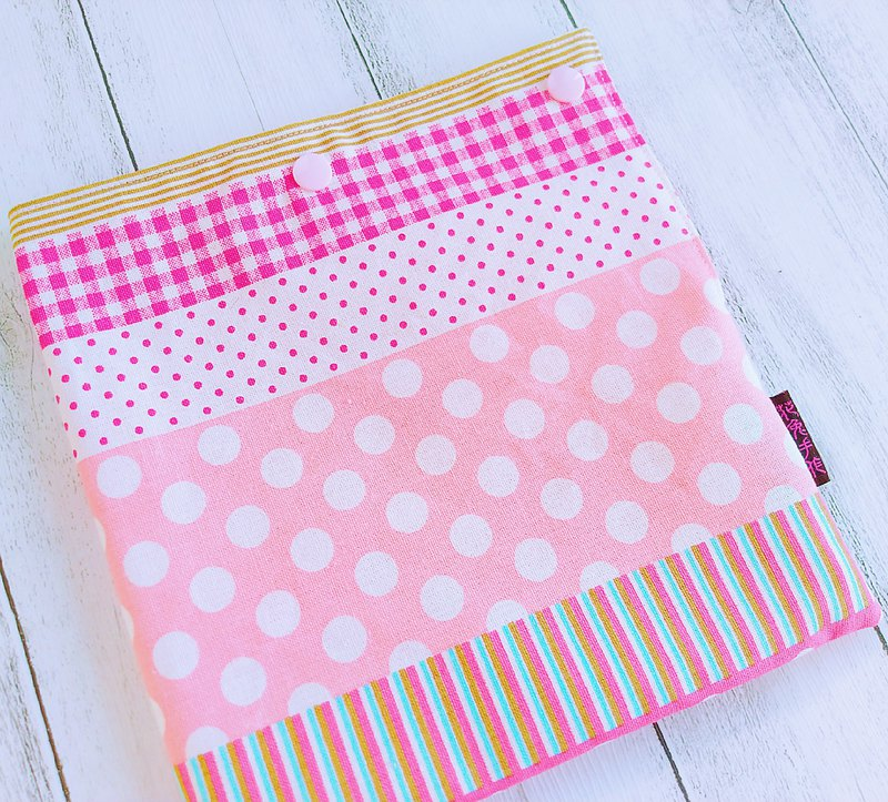 Pink striped instant food green food bag US food grade certified waterproof food cloth