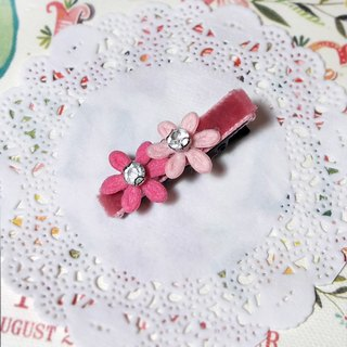 【POPO ABBY】HAIR ACCESSORIES PINK HANDMADE
