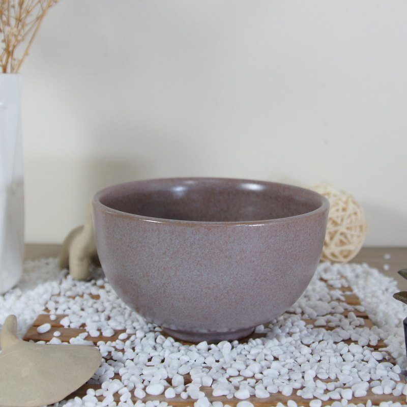 Pink Purple Bowl, Rice Bowl - About 350ml