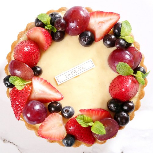 [LeFRUTA Langfu] Avignon chanson / berry wreath of fresh fruit tarts 6 inches