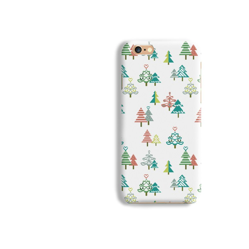 Tree Pattern Matt hard Phone Case iPhone X 8+ 7 6 S8 plus Samsung S8 S7 S6 LG