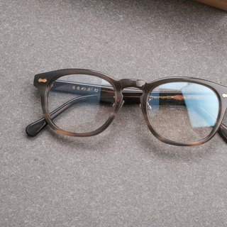 Korea limited strip gray box glasses frame wild frame