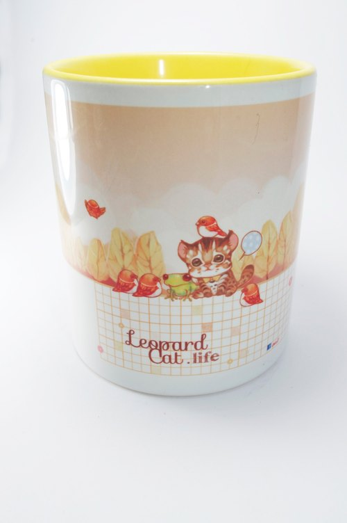 Tigers inner color mug cup