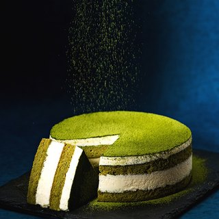 "Top super concentrated matcha tiramisu cake / 6 吋 ""# level highest Shizuoka pure matcha powder # 甜甜不涩"