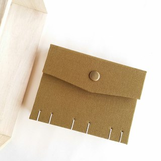 [Ordinary system mustard green] Daily extraordinary French Coptic line book handmade book notebook