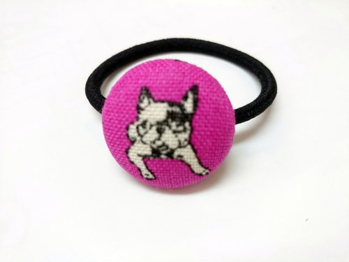 Withholding cloth headband ring ~ Dog*SK*