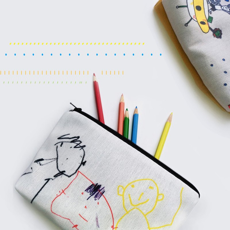 Graffiti drawing [customized] universal pen bag parent-child gift