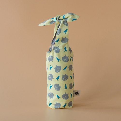 """Rabbit Ear"" Bottle Holder / NYA x inBlooom / Yellow Moon"