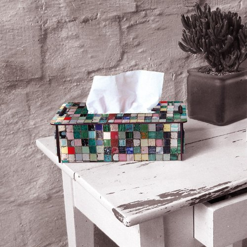 German Werkhaus eco-friendly wooden pasta box - Mosaic