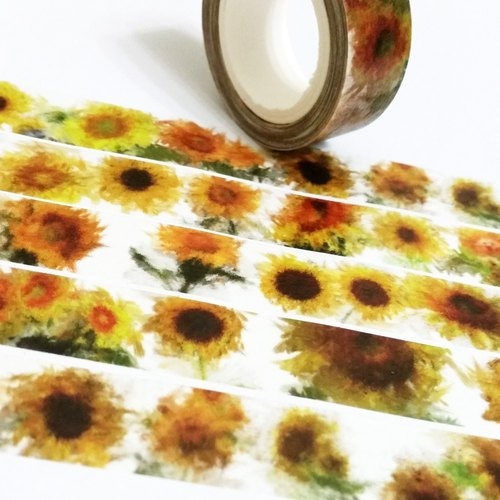 Sample Washi Tape Sunflower