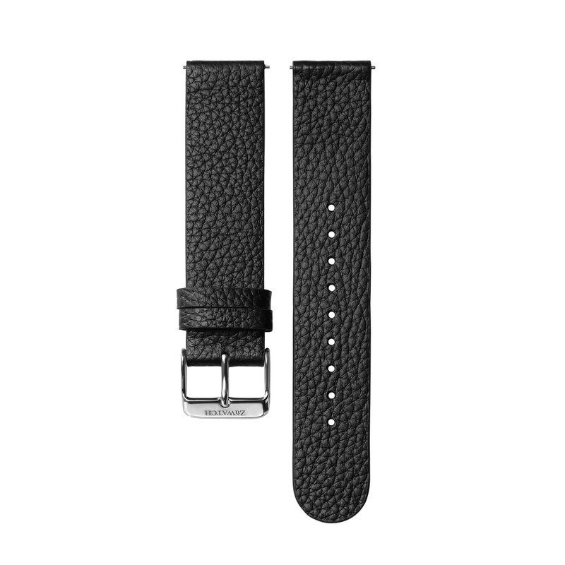 EMBOSSED LEATHER Black [Optional buckle color]