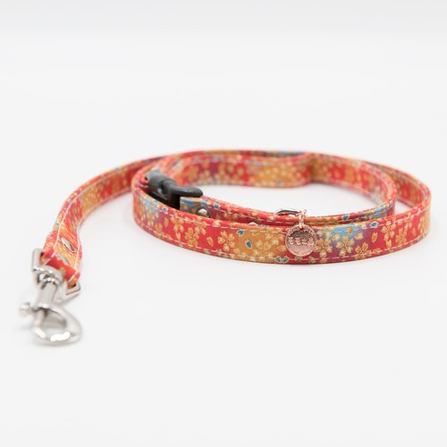 Momojism 毛毛之森 Pet Leash (Cats • Dogs) suitfable for medium to small sized dog breeds / adult cats to kittens - Hanabi