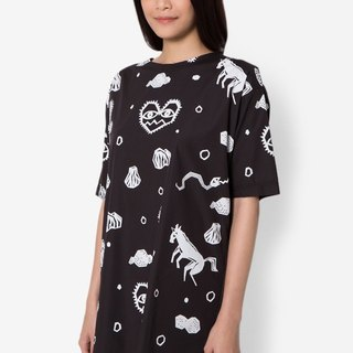 BLACK CACTUS Hipster Nation Dress