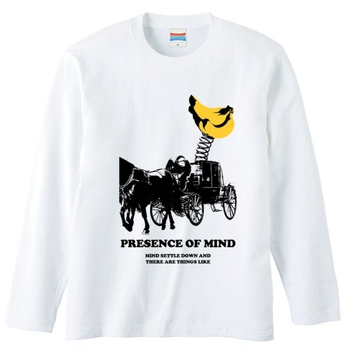 [Long sleeve T-shirt] of mind
