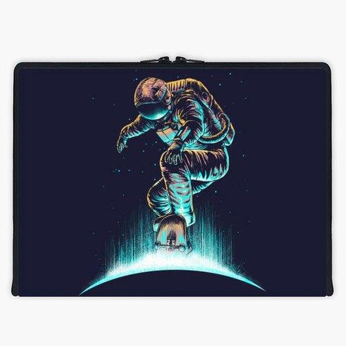 Axis - Custom 3-Sided Zipper Laptop Sleeve - Space Grind