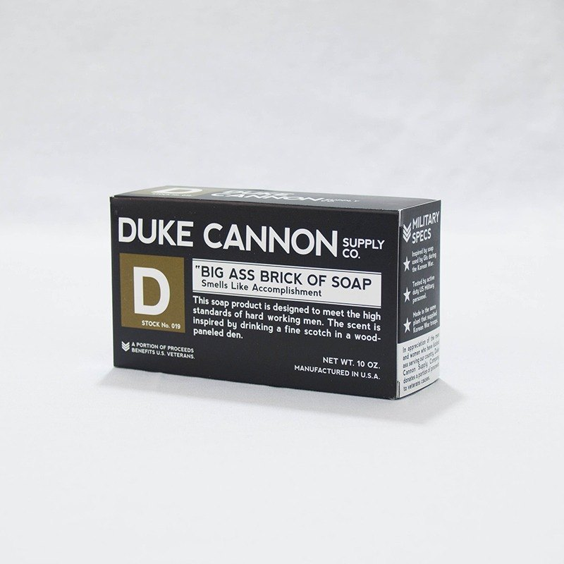 Duke Cannon BIG ASS American Super Dry Soap Group (Black)