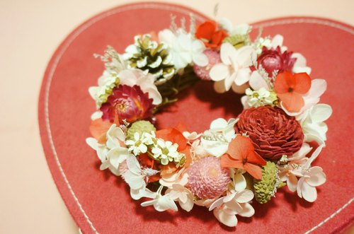 Valentine's Day sweet micro-King combination dry flower floral not flower Valentine's Day