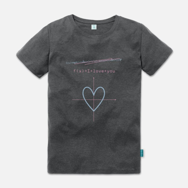 Function of love (pastel version) - neutral short-sleeved T-shirt
