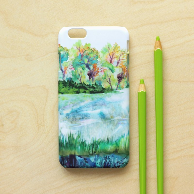 Spring Lake. Matte Case (iPhone, HTC, Samsung, Sony, LG, OPPO)