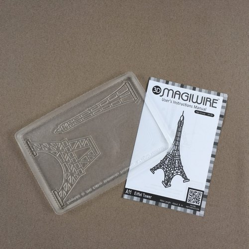 MAGIC line © | Eiffel Tower special mold | three-dimensional decorative | minimalist design | create customer self-made hand-made | super healing Magiwire © magic wire | Eiffel Tower dedicated mold | desktop deco | wire sculpture | wire art | craft diy mak