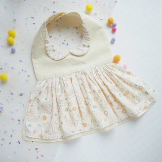 Cotton Baby one-piece style Bib