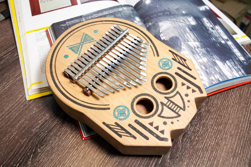 17 note kalimba- Home maker
