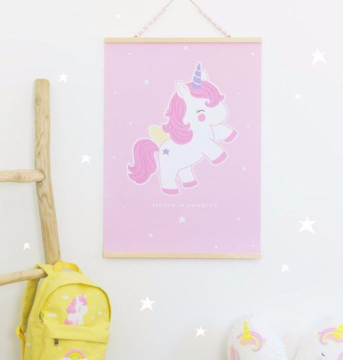 [Offering Group] Netherlands Little Lovely Company ─ healing poster + poster hanger
