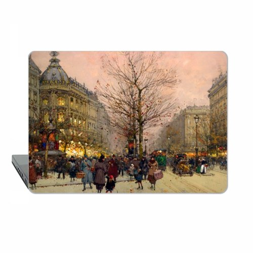 Paris Macbook Pro 13 Retina Case Impressionist MacBook Air 13 Case Galien-Laloue Macbook 11 Macbook 12 Macbook Pro 13 Touch bar Case Hard 1770
