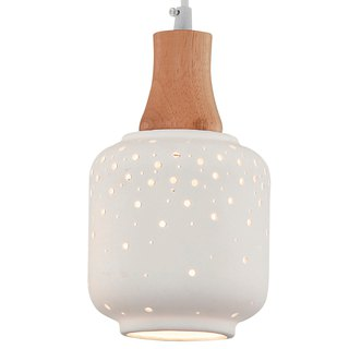 Cave bottle light ceramic chandelier