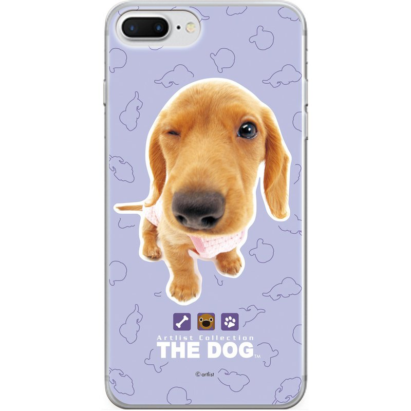 The Dog Big Dog License - Mobile Glass Case, AJ02