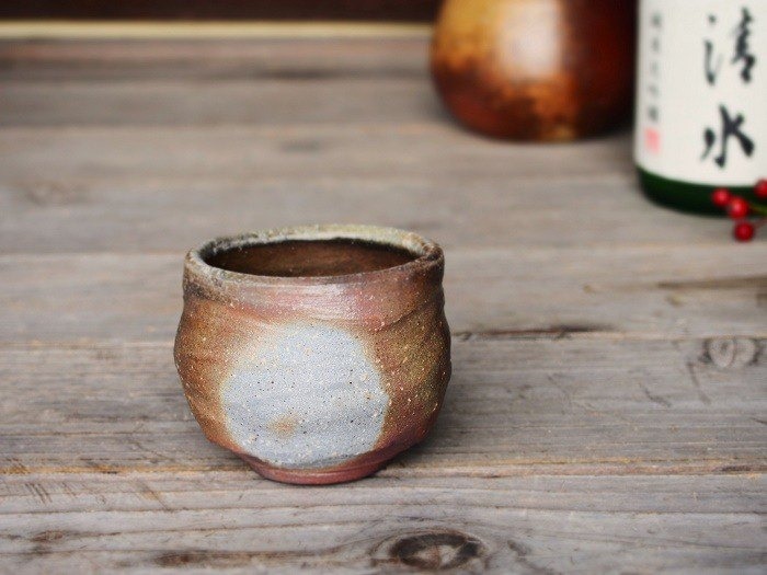 Bizen fry sweet sake 【with paulownia box】 _ gi-098