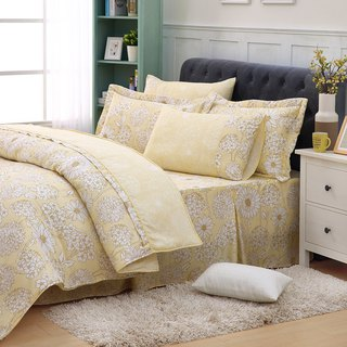 The dream of increasing the size of sunflower - Tencel dual-use bed cover six-piece group [100% lyocell] emperor fold