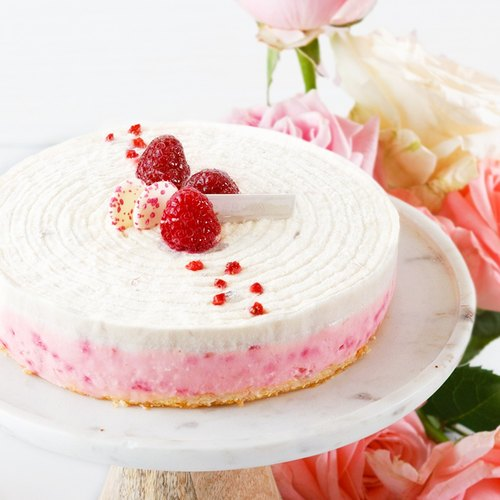 【LeFRUTA RONAL】 Rose Evelyn / Rose Lychee Raspberry Cheese 6 ""