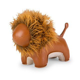 Zuny - Hairy Lion Lino Styling Animal Bookend