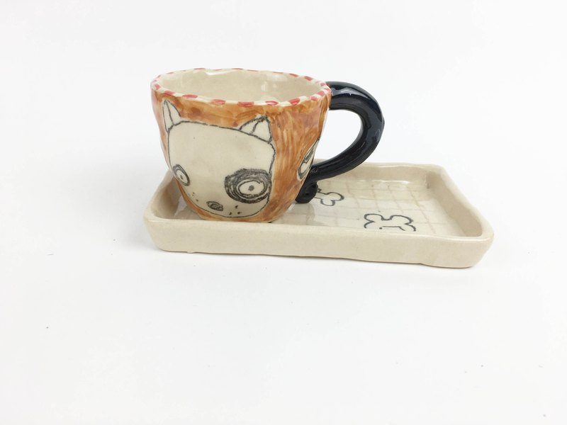 Nice Little Clay Manual Cup Set_黑轮狗0135-13