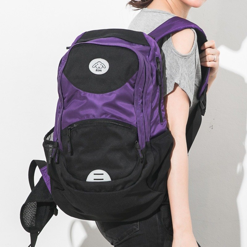 Print out after the Qing】 【love after the package Sport - Star Purple computer bag / Mom / Dad / backpack / sports bag