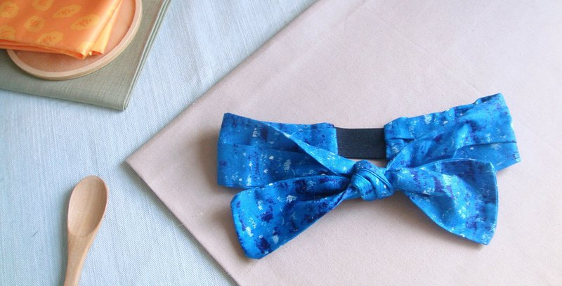 Spray l limited l bow tie tied tie hair band