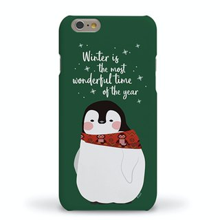 Korean top paint mobile phone case (I love winter and winter) iXS MAX XS i8+Note9Note8 S9+S8